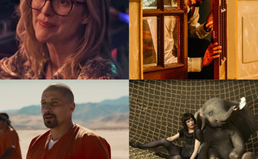 Gloria Bell, Hotel Mumbai, The Mustang and Dumbo