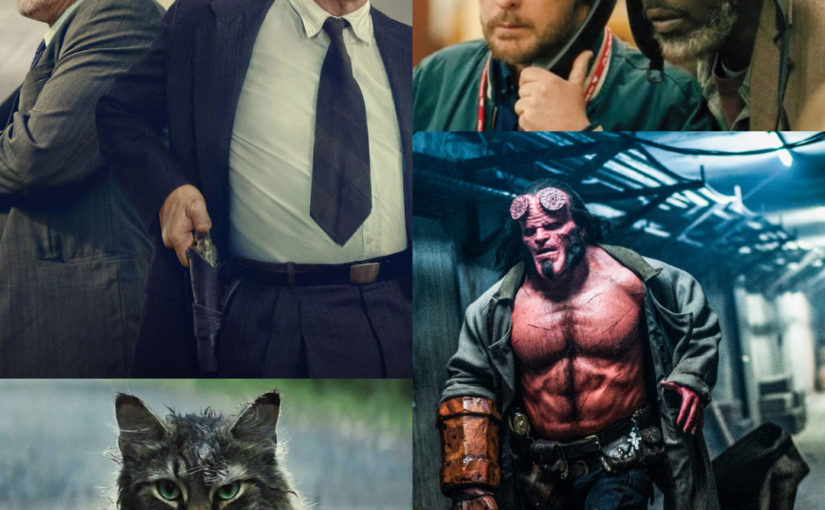 The Highwaymen, Pet Sematary, The Public and Hellboy